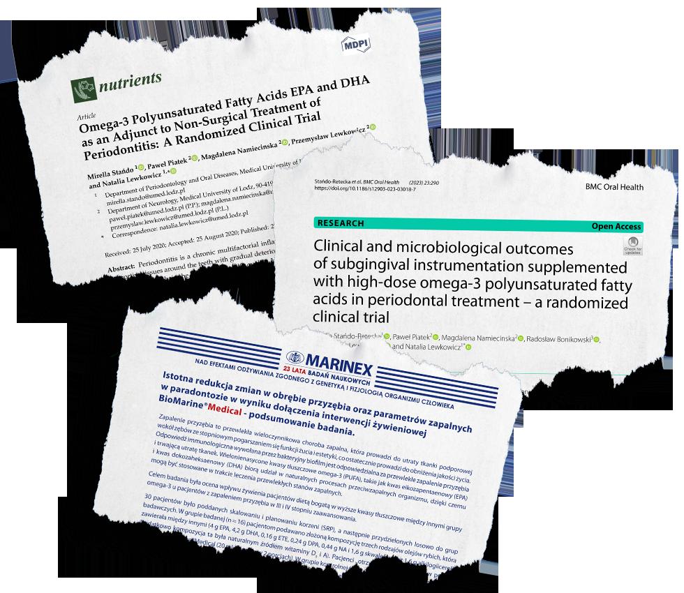paradontoza, biomarine medical