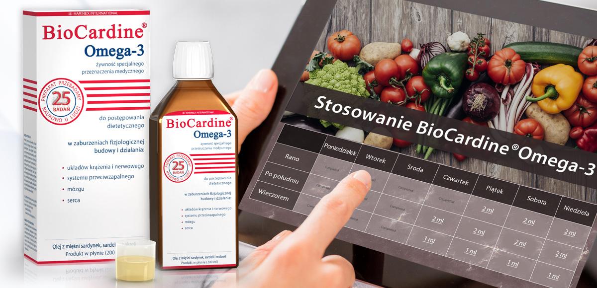 Kalkulator BioCardine®Omega-3 (płyn)