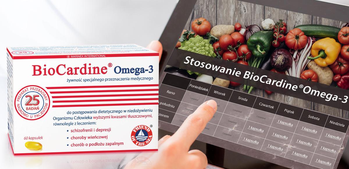 Kalkulator BioCardine®Omega-3 (kapsułki)