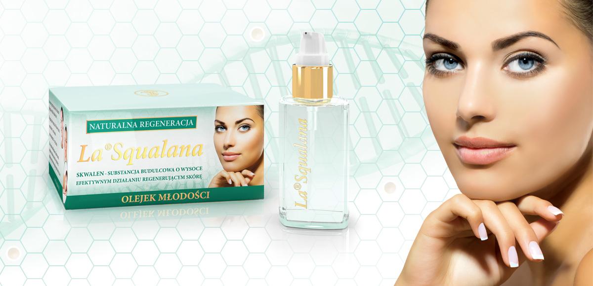 Ocena wpływu olejku La<sup>®</sup>Squalana nakondycję ipoprawę stanu skóry.