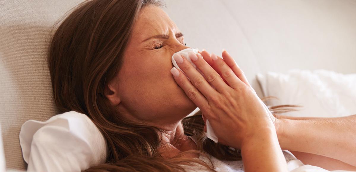 Żywienie BioMarine<sup>®</sup>570 wzwalczaniu nawracających infekcji górnych dróg oddechowych.