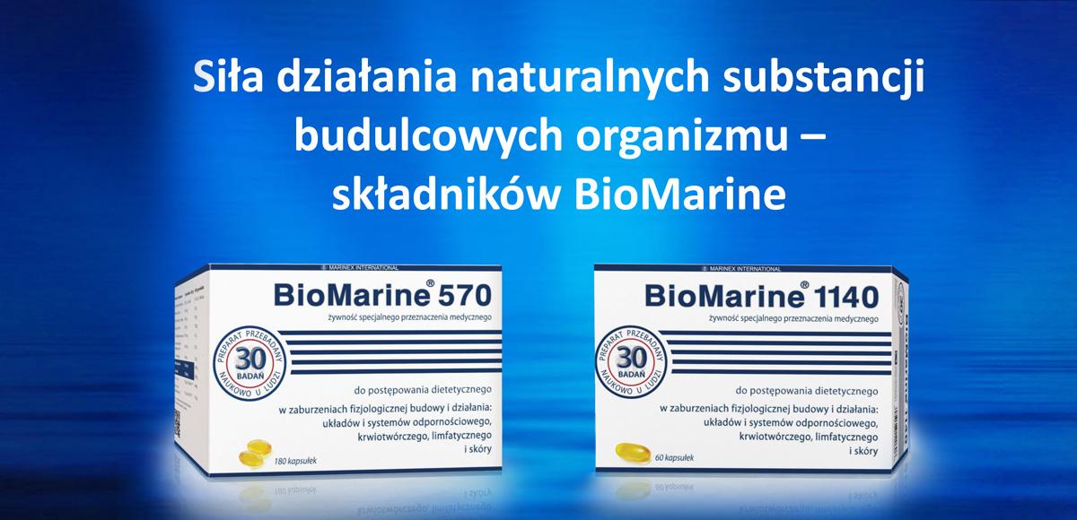 Siła działania naturalnych substancji budulcowych organizmu człowieka – składników BioMarine®.