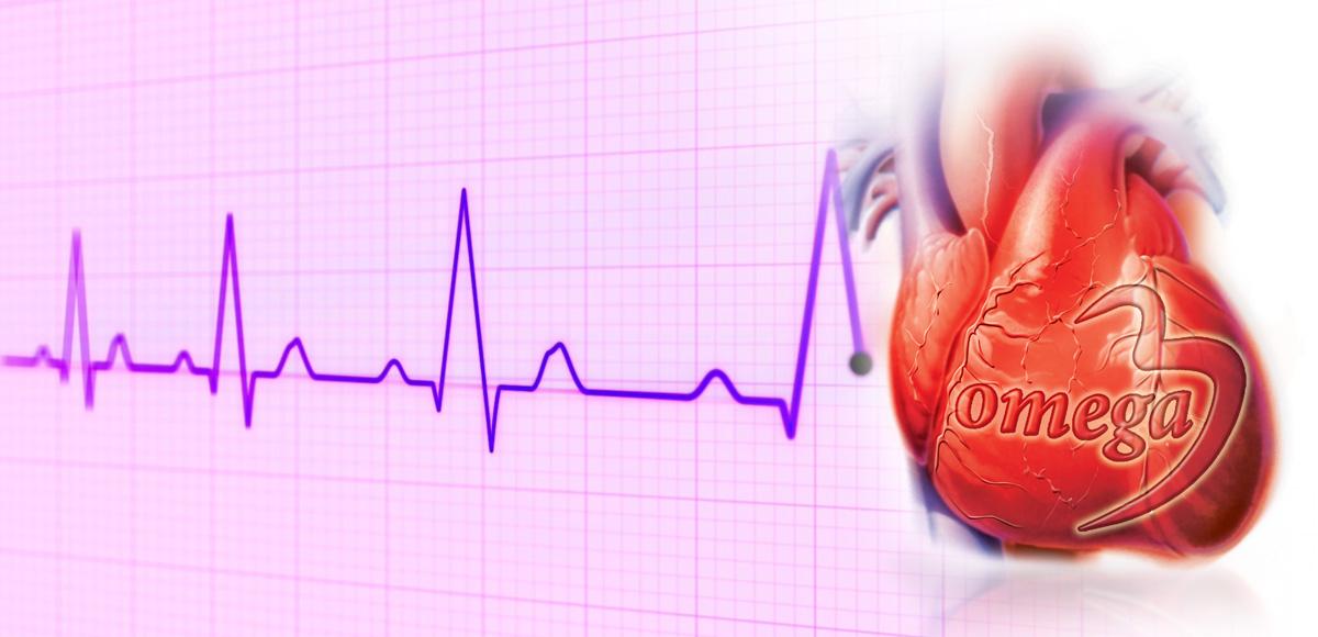 Kwasy tłuszczowe omega-3 o30% zmniejszają ryzyko arytmii.