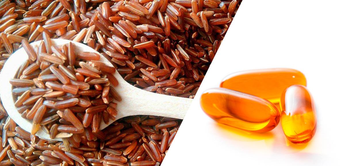 3.8g kw. tł. EPA iDHA Omega-3 i600mg ekstraktu zczerwonego ryżu obniżają cholesterol (TC) o32% itrójglicerydy (TG) o30%.